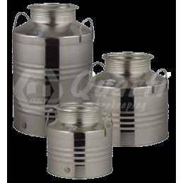 Fut inox huile 25 litres