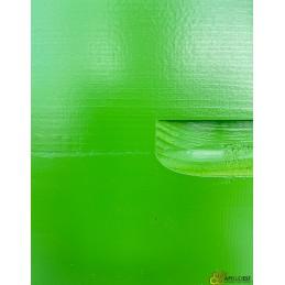 Hausse dadant 9 cadres verte