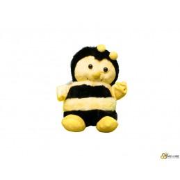 Peluche abeille groscalin 18cm