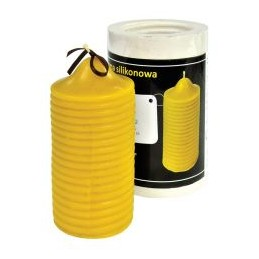 Moule a bougie cylindre raye