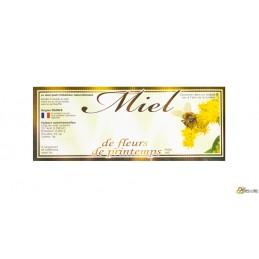 Etiquettes 154x60 fleurs...